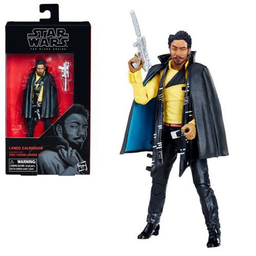 Star Wars The Black Series 6 Lando Calrissian (Solo Movie) Action Figure