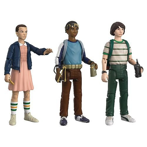 Funko Stranger Things 3.75 Action Figure Three Pack 1