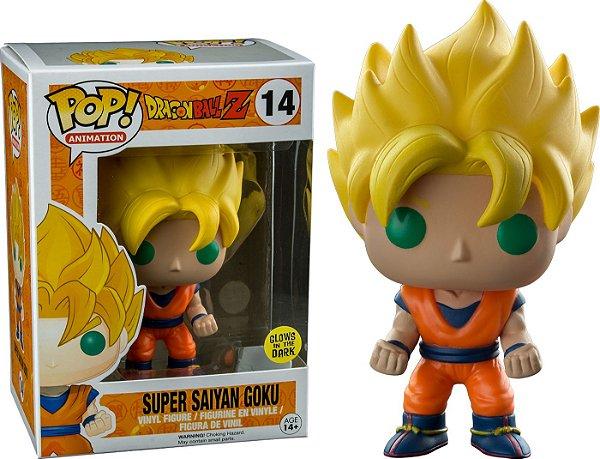 Funko Pop - #14 Super Saiyan Goku Exclusive - GITD