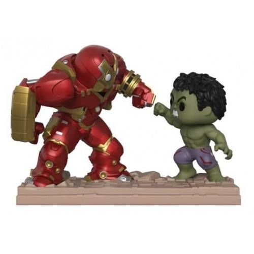 Funko POP! XL Movie Moments: Hulkbuster vs. Hulk NYCC Walgreens Exclusive