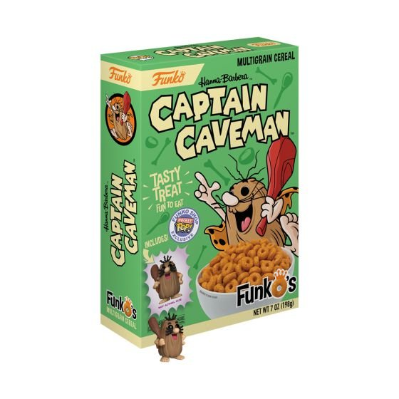 Funko's Cereal: Captain Caveman