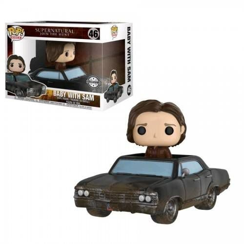 Funko Pop Rides Supernatural - Baby with Sam Hot Topic Exclusive