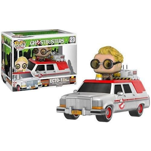 Funko Pop Rides Ghostbusters Ecto-1 with Jillian Holtzman