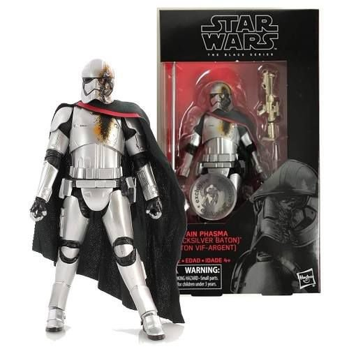 Star Wars The Black Series 6 Captain Phasma (Quicksilver Baton) TRU Exclusive