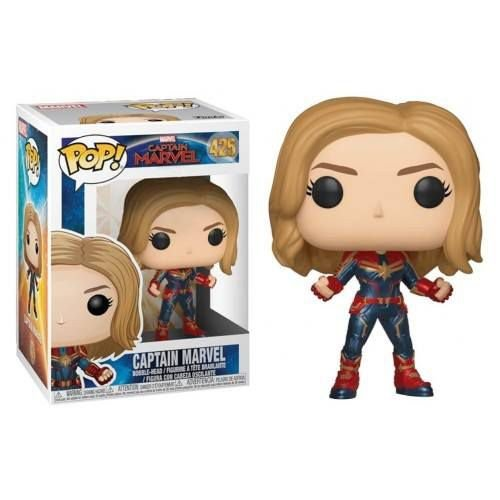 Funko Pop! Marvel: Captain Marvel - Captain Marvel