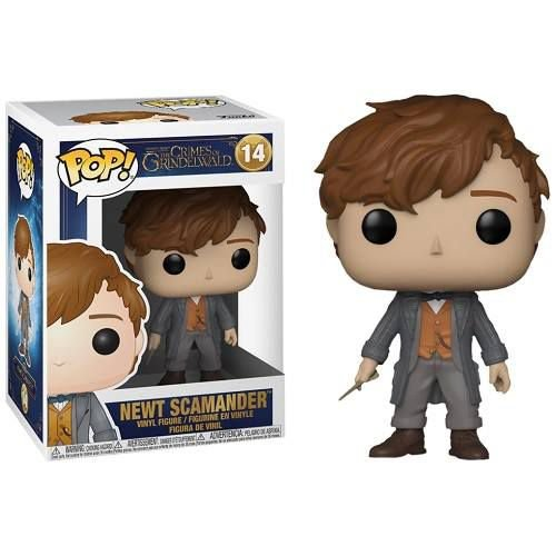 Funko Pop! Movies: Fantastic Beasts: The Crimes of Grindelwald - Newt Scamander
