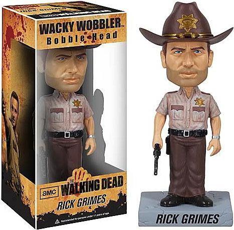 Funko Wacky Wobbler- The Walking Dead - Rick Grimes