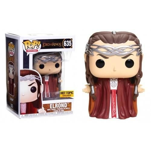 Funko Pop! Movies The Lord Of The Rings Elrond Hot Topic Exclusive