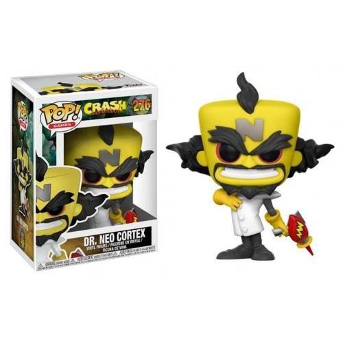 Funko Pop! Games: Crash Bandicoot - Dr. Neo Cortex