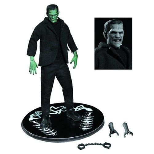 Mezco Universal Monsters One:12 Collective Frankenstein (Color) PX Previews Exclusive