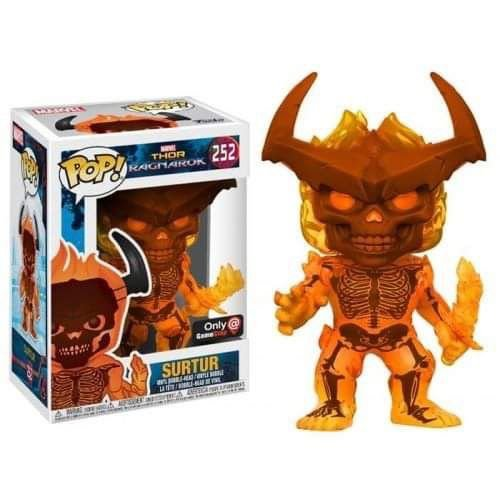Funko Pop Marvel: Thor Ragnarok - Surtur – Gamestop Exclusive