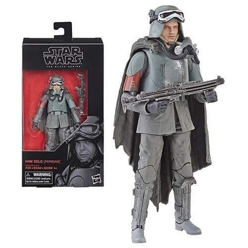 Star Wars Black Series 6 Han Solo Mudtrooper Mimban