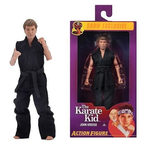 NECA The Karate Kid – 8″ Clothed Action Figure – John Kreese - SDCC 2019 Exclusive