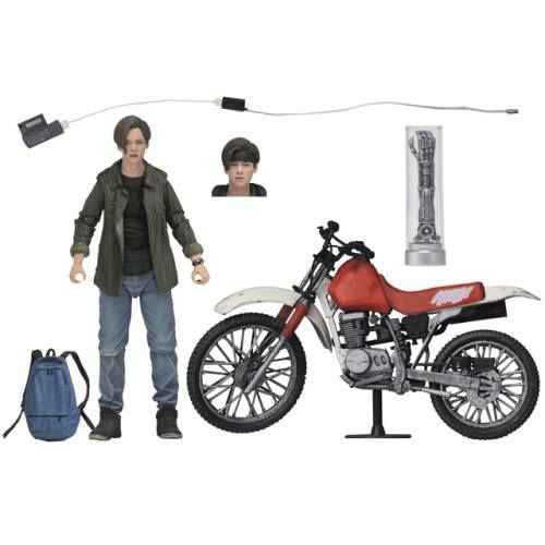 "NECA SDCC 2019 Exclusive - T2 – 7"" Scale Action Figure – Ultimate John Connor with Dirt Bike"