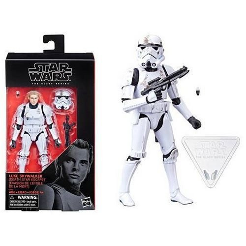Star Wars Black Series 6 Luke Skywalker (Death Star Escape) Target Exclusive