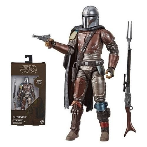 "Star Wars The Black Series 6"" The Mandalorian Carbonized Target Exclusive"