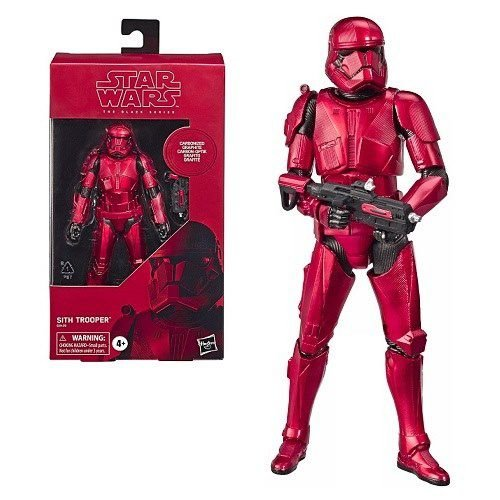 "Star Wars The Black Series 6"" Sith Trooper Carbonized Amazon Exclusive (The Rise of Skywalker)"