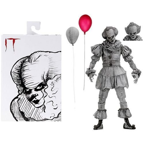 "SDCC 2019 Exclusive NECA IT (2017) - 7"" Scale Action Figure - Etched Pennywise"