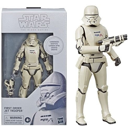 Star Wars The Black Series 6 The First Order Jet Trooper Carbonized Walmart Exclusive