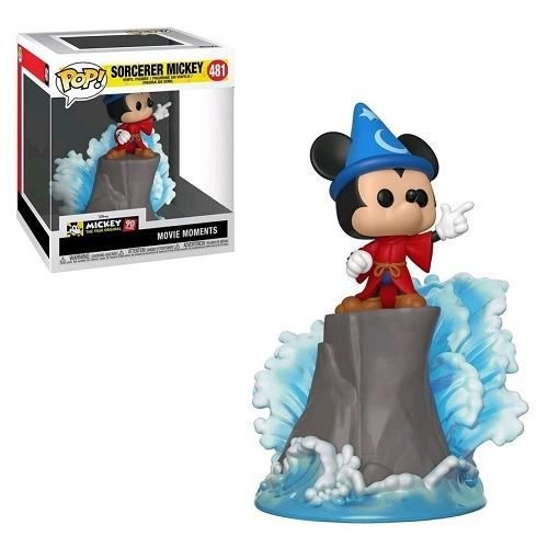 Funko Pop Movie Moments Disney Fantasia Sorcerer Mickey 90th Anniversary Box Lunch Exclusive