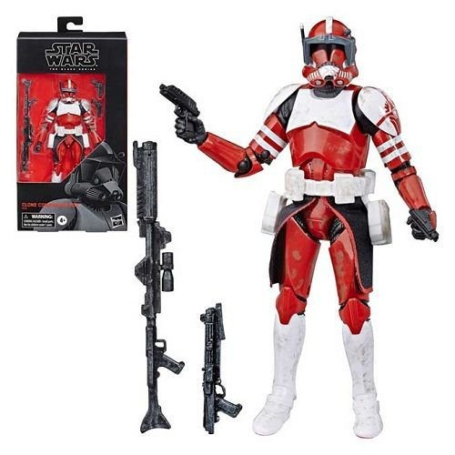 "Star Wars The Black Series 6"" Clone Commander Fox (The Clone Wars) BBTS Shared Exclusive"