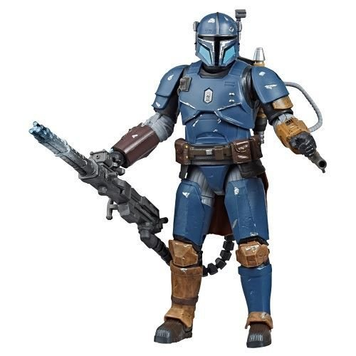 Star Wars The Black Series 6 Heavy Infantry Mandalorian Deluxe Best Buy Exclusivo