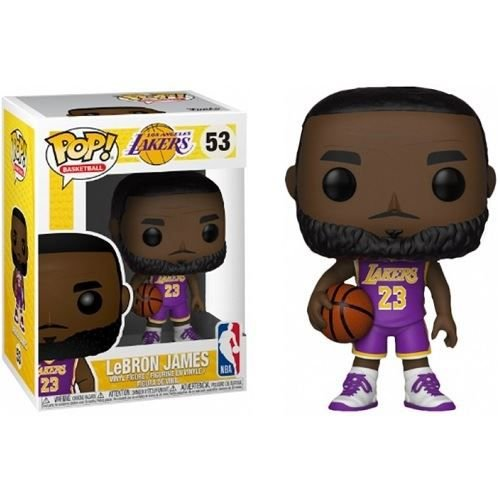 Funko Pop NBA Basketball - LeBron James L.A. Lakers Purple Uniform Fanatics Exclusivo