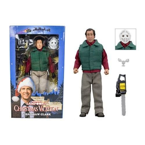 NECA National Lampoon's Christmas Vacation – 8″ Clothed Action Figure – Chainsaw Clark
