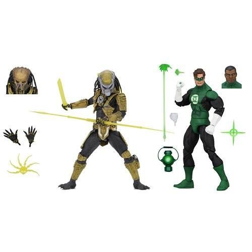 """NECA NYCC 2019 Green Lantern (Classic) – 7"""" Scale Action Figures – Green Lantern and """"Sinestro Corps"""" Predator 2-Pack"""