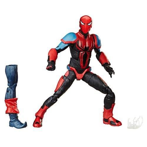 Marvel Legends Spider-Man (2018 Video Game) Spider-Armor MK III (Demogoblin BAF)
