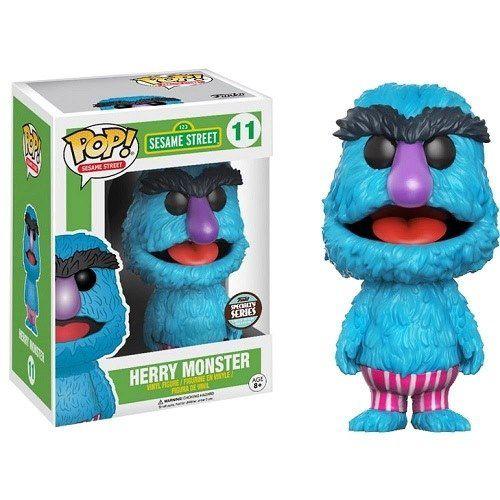 Funko Pop Sesame Street Herry Monster Specialty Series