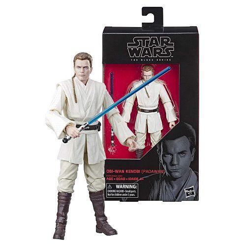 Star Wars The Black Series 6 Obi Wan Kenobi Padawan