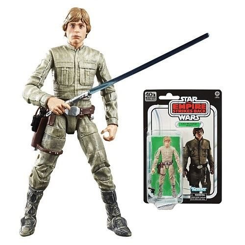 "Star Wars 40th Anniversary The Black Series 6"" Luke Skywalker (Bespin)"