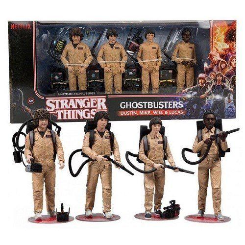 McFarlane Stranger Things Ghostbusters Deluxe Box 4-Pack