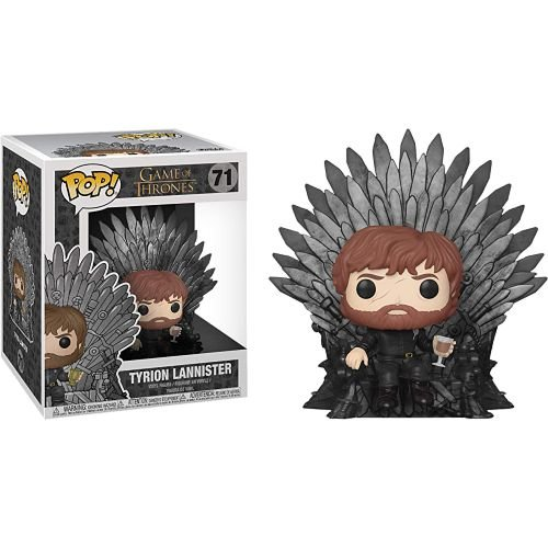 Funko Pop! Deluxe: Game of Thrones - Tyrion Lannister on Iron Throne