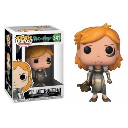Funko Pop Rick and Morty Warrior Summer