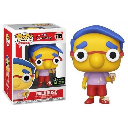 Funko Pop! Television The Simpsons Milhouse ECCC 2020 Exclusive