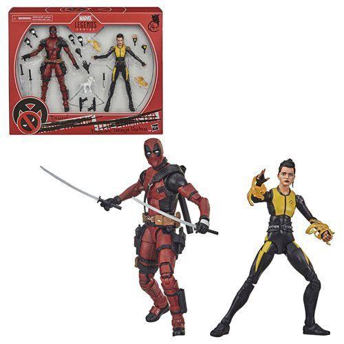 Marvel Legends X-Men 20th Anniversary Deadpool & Negasonic Teenage Warhead 2-pack