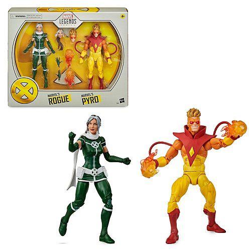X -Men 20th Anniversary Marvel Legends Rogue & Pyro