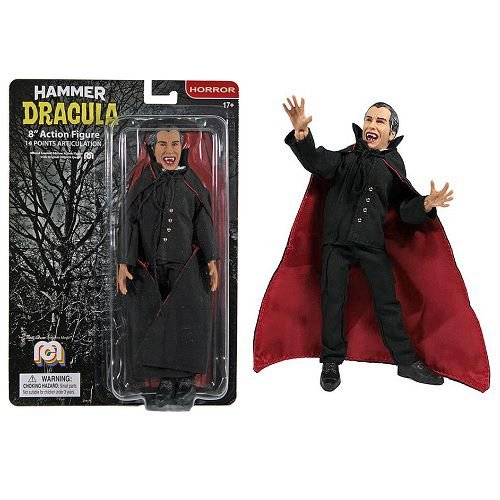 "Mego Hammer Dracula 8"" Clothed Figure"