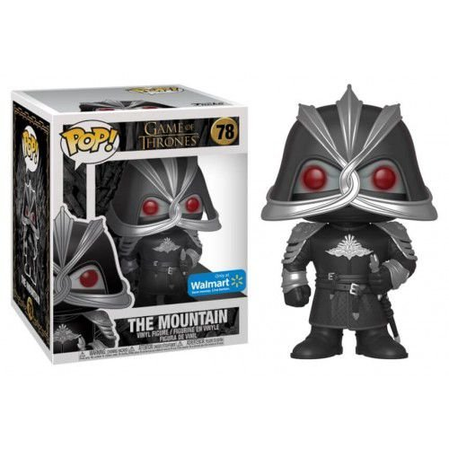 "Funko Pop Game of Thrones - The Mountain Masked 6"" Super-Sized Walmart Exclusive"