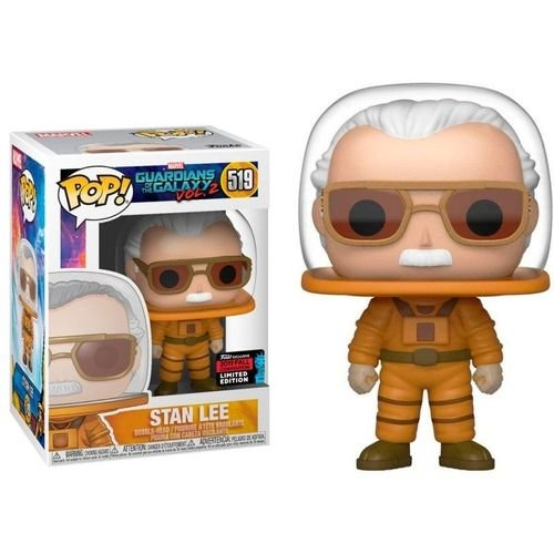 Funko Pop Marvel Guardians Of The Galaxy Vol.2 Stan Lee Cameo Astronaut - NYCC 2019 Exclusive