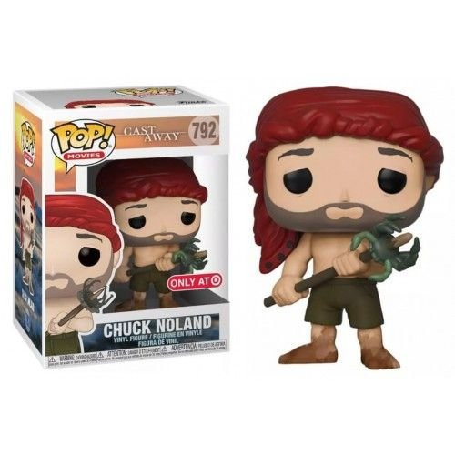 Funko Pop Movies: Cast Away - Chuck Noland (Spear with Crab) Target Exclusive