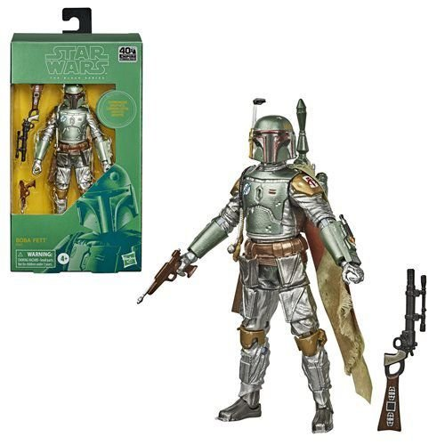 Star Wars The Black Series Carbonized Collection Boba Fett Figure
