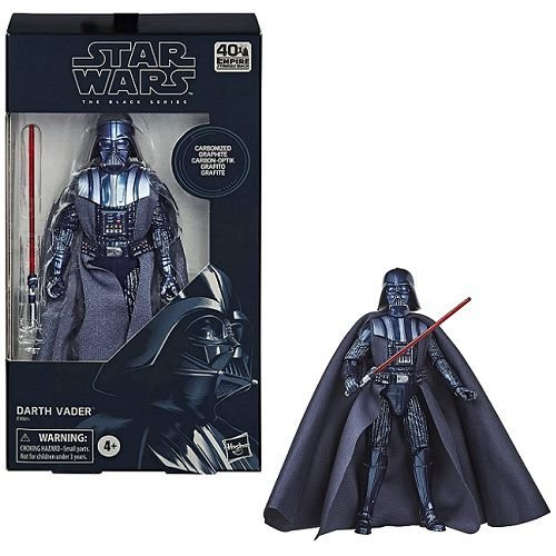 Star Wars The Black Series 6 Carbonized Collection Darth Vader (Amazon Exclusive)