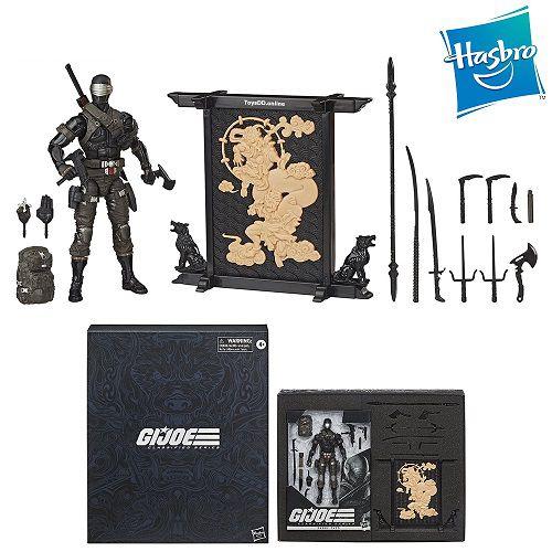 Hasbro G.I. Joe Classified Series Snake Eyes Deluxe Figure (Hasbro Pulse Exclusive)