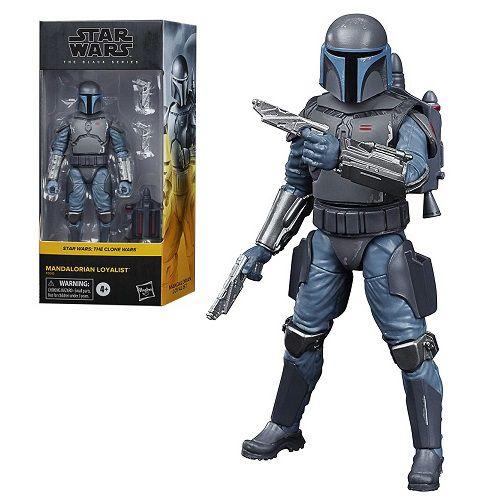Star Wars The Black Series 6 The Clone Wars Mandalorian Loyalist Walmart Exclusive