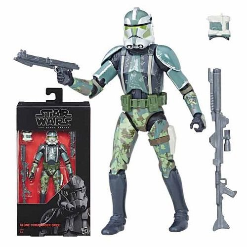 Star Wars The Black Series 6 Clone Commander Gree