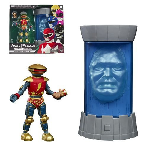 Power Rangers Lightning Collection Mighty Morphin Zordon & Alpha 5 - Walmart Exclusive