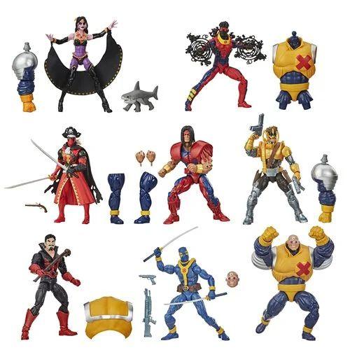 Deadpool Marvel Legends Wave 3 Set of 7 Figures (Strong Guy BAF)